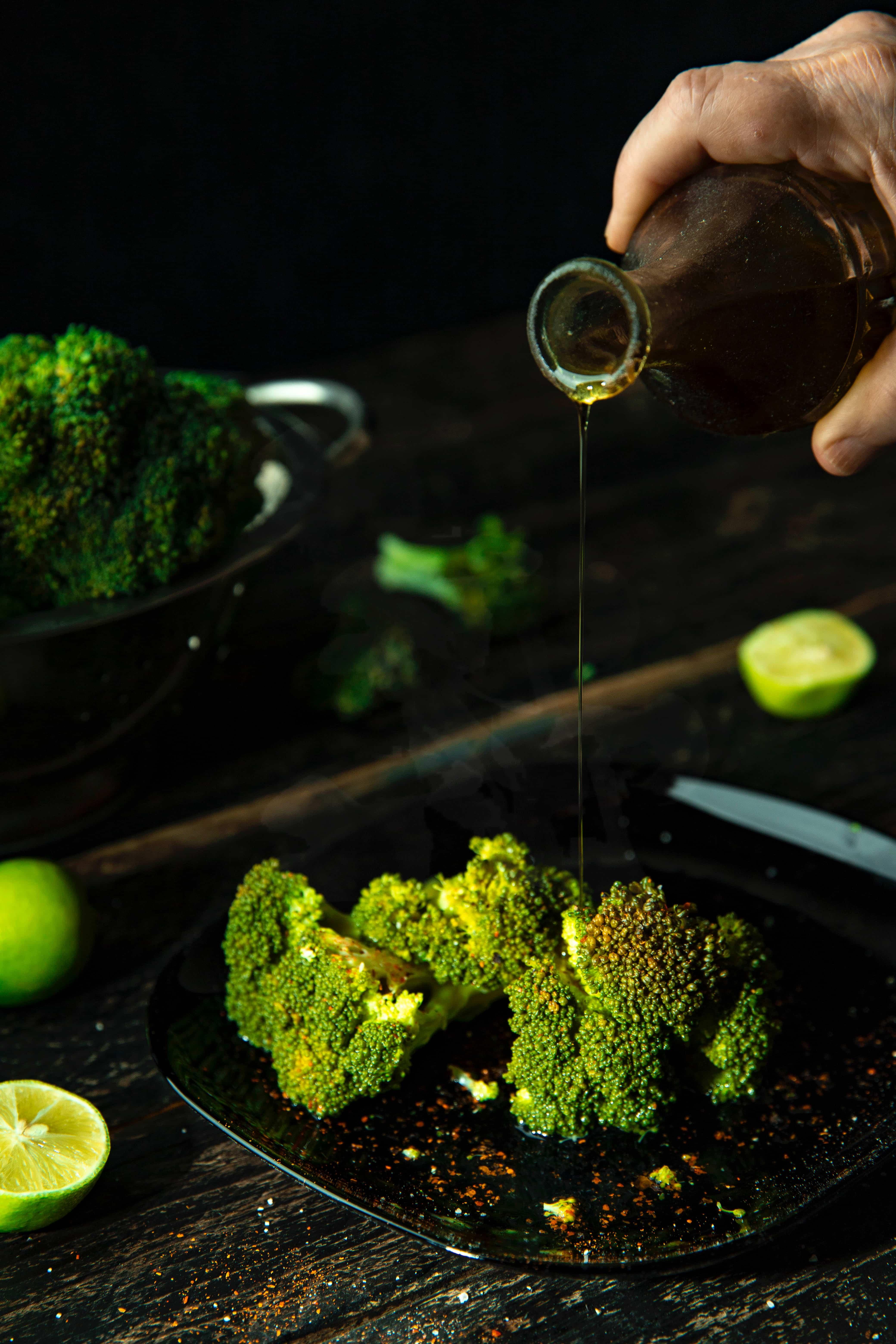 broccoli e olio