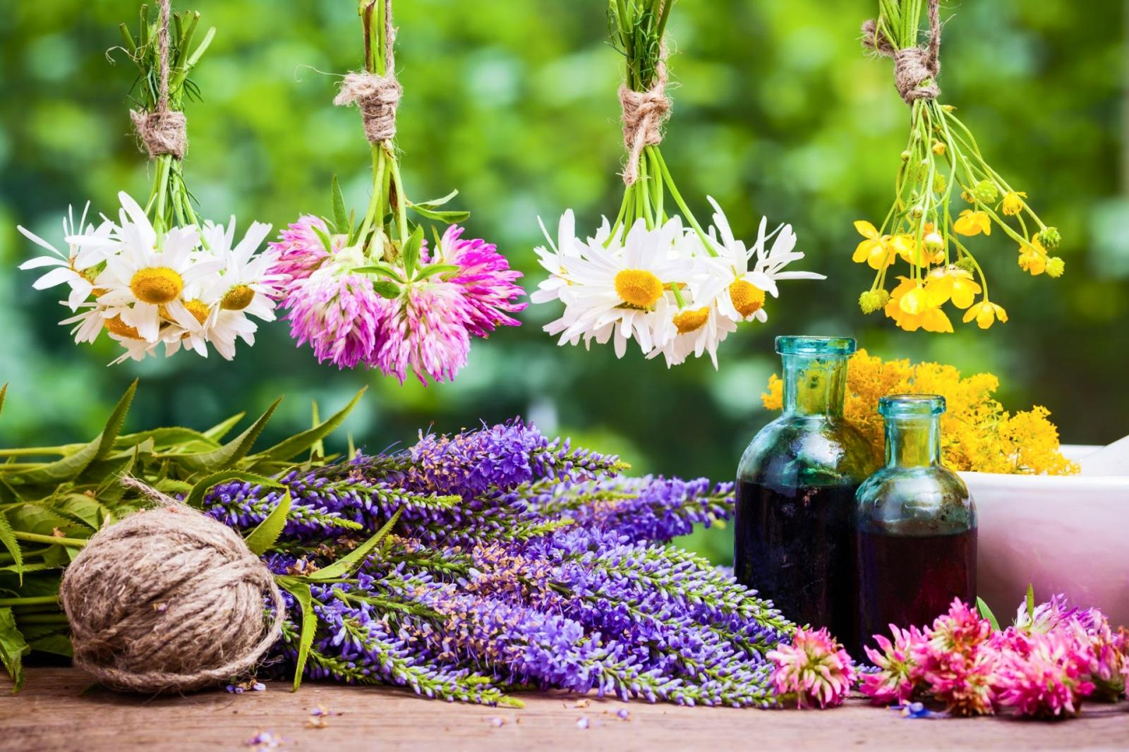 essiccazion fiori di bach